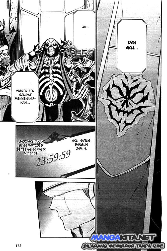 Baca Komik Overlord Chapter  1 Bahasa Indonesia