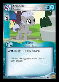 MLP Chipcutter, Sculptor Friends Forever CCG Card