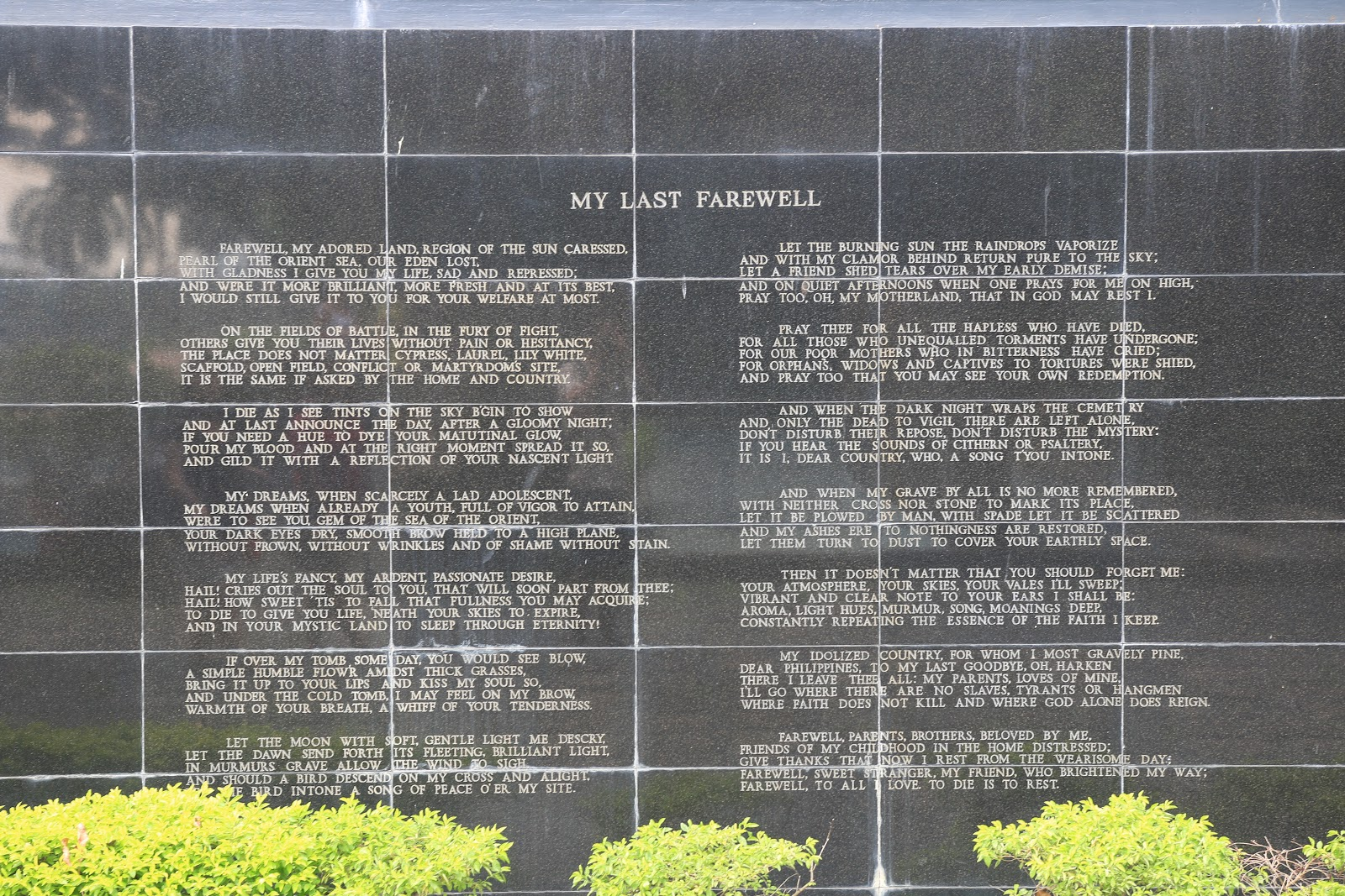 Holiday trip to Manila to learn about the history and present of
