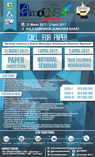 Lomba Karya Tulis Ilmiah - Andalas Accounting National Events