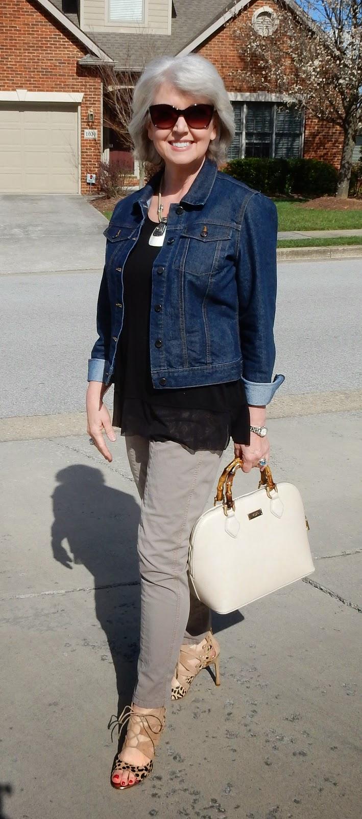Fifty Plus Women S Fashion Jackets Denim