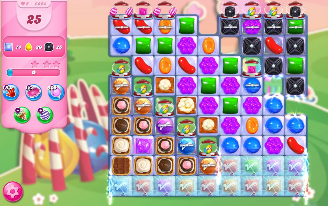 Candy Crush Saga level 6564