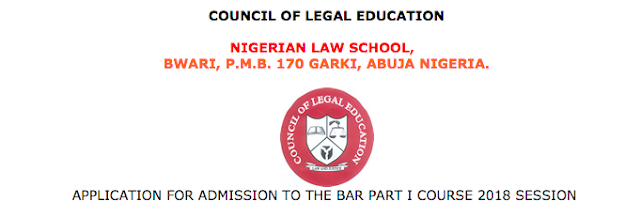 Nigerian Law School Admission List
