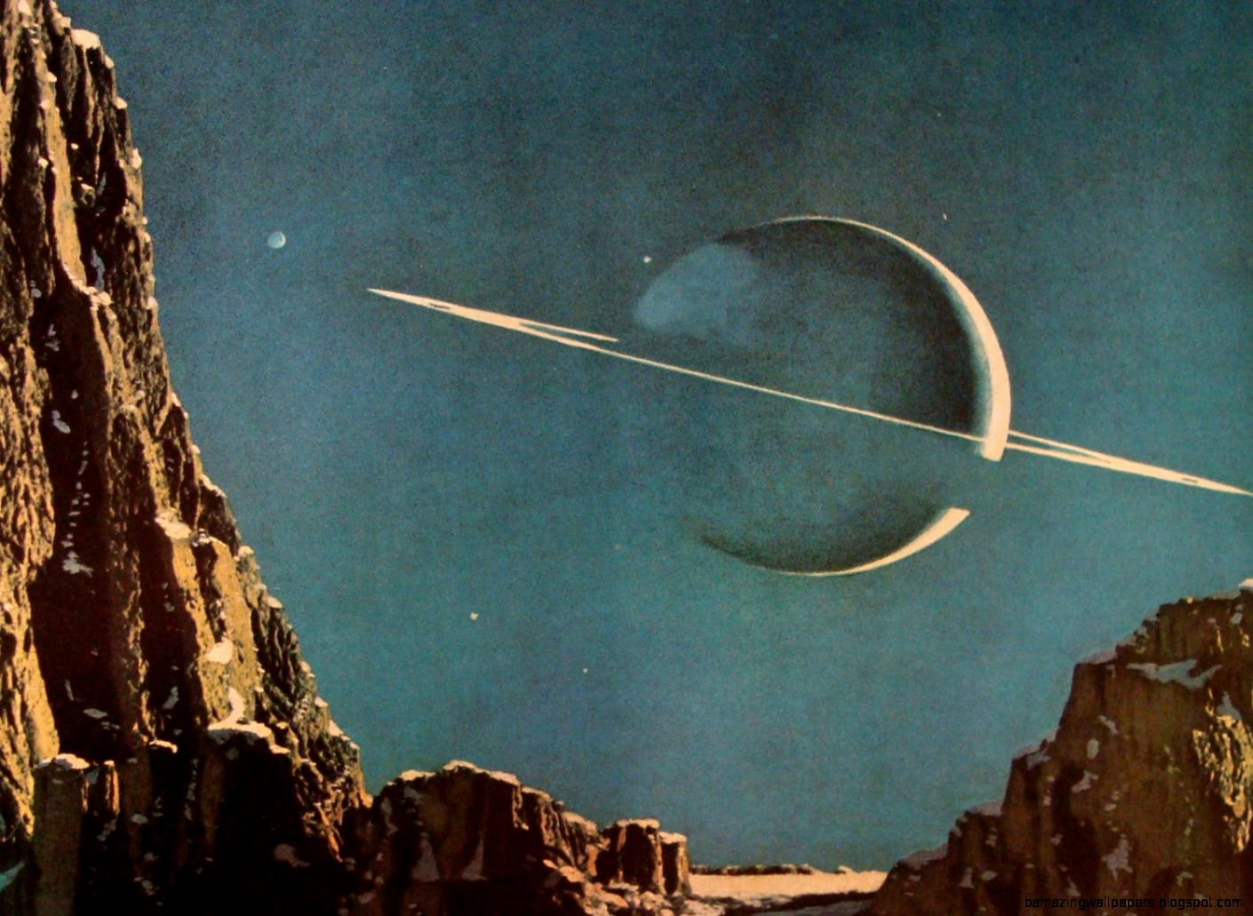 Retro outer space art amazing wallpapers - Vintage space wallpaper ...