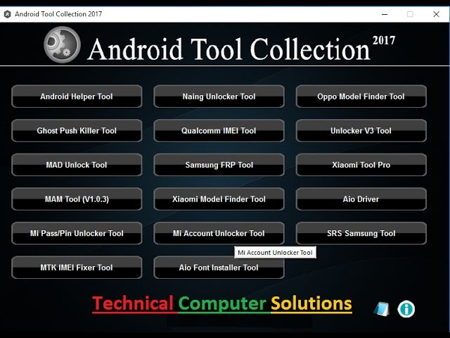 All in One Android Tool Collection 2017 | All Frp Tool IMEI Tool Free Download