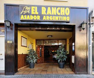 Foto de la entrada El Rancho, Asador Argentino en Sabadell, de Google Maps