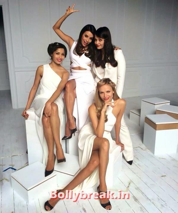 Freida Pinto, Eva Longoria, Aishwarya Rai and Natasha Poly, Aishwarya Rai at cannes 2014