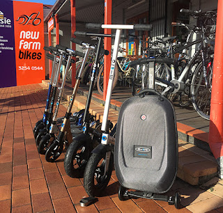 New Farm Bikes Micro Scooter in store display