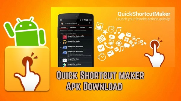 shortcut apk