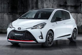 Toyota Yaris GR Sport (2019) Front Side