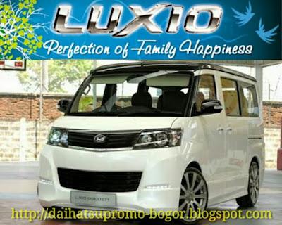 Daihatsu luxio, Mobil Daihatsu luxio, Mobil luxio, Mobil daihatsu, Luxio, New luxio, Luxio bogor,