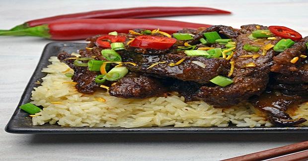 Spicy, Crispy, Orange Beef Recipe