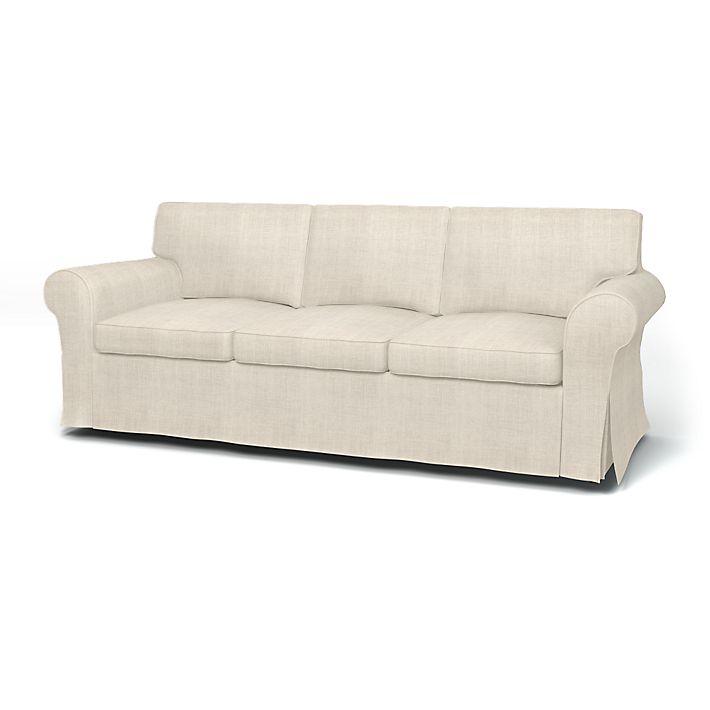 My Ektorp Sofas Get a Luxurious Ikea Hack from BEMZ  : hellolovely hello lovely studio Bemz natural linen slipcover ikea ektorp sofa from www.hellolovelystudio.com size 710 x 710 jpeg 21kB