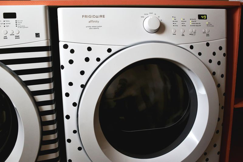 DIY Washer & Dryer Makeover
