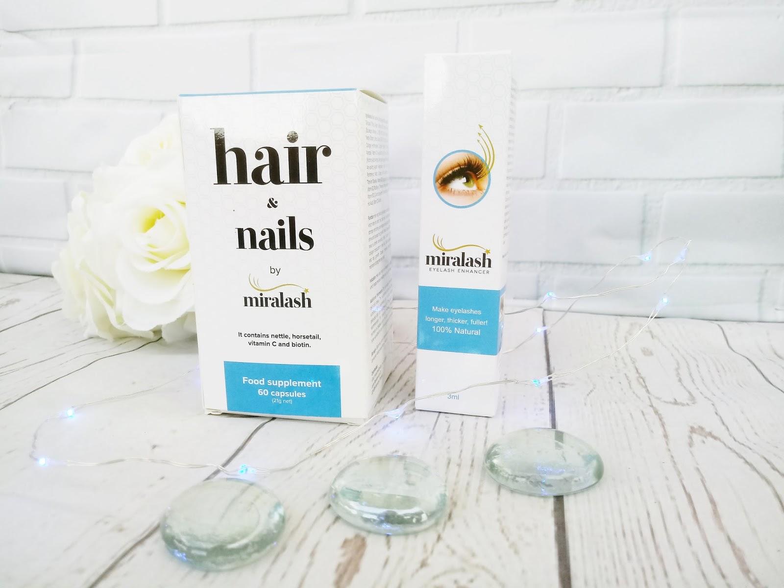Zestaw Miralsh - piękne rzęsy, włosy i paznokcie