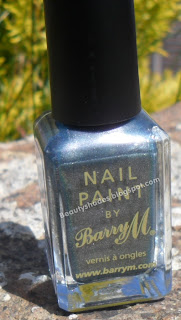 Barry M Silvery Lilac