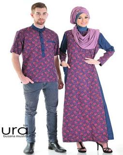 contoh baju muslim terbaru