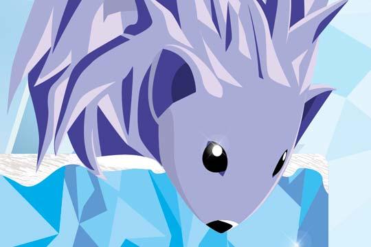 Ilustración, The Hedgehog de Kevin Martinez