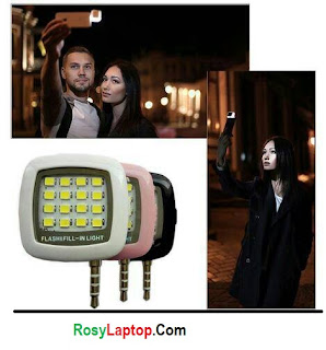 Lampu FlashLight HP / Lampu Selfie LED Camera