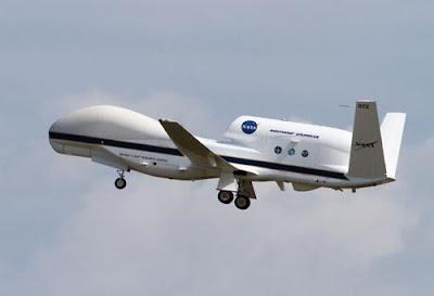 Un drone moderno della NASA