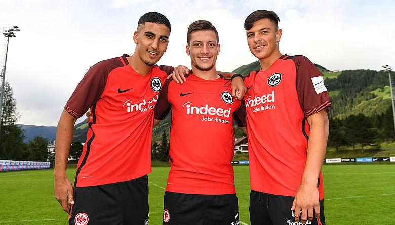 Image result for Eintracht Frankfurt team 2017