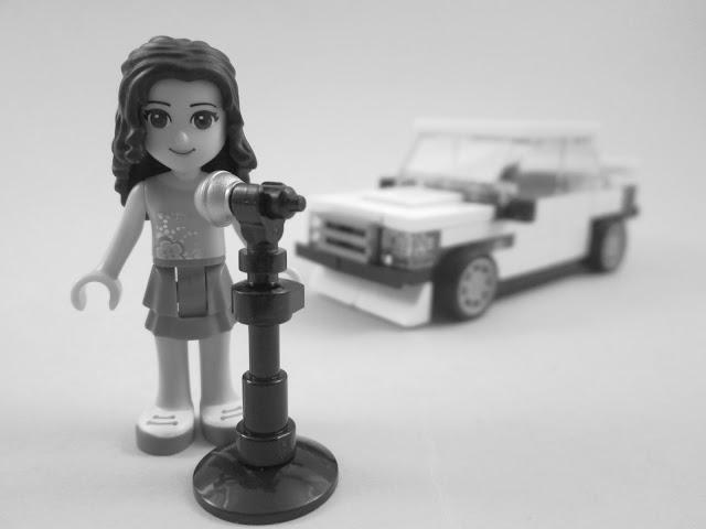 MOC LEGO sobre a música Oh Lord, Won't you buy me a Mercedes Benz Janis Joplin