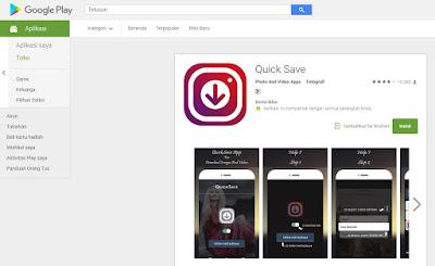 Cara Download Video atau Foto dari Instagram
