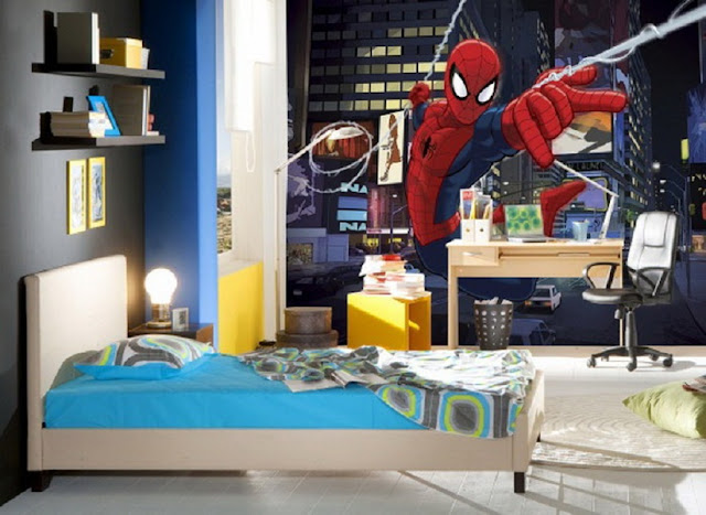 luxurious spiderman bedroom ideas