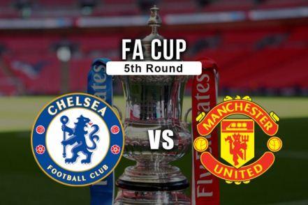 Chelsea vs Manchester United, FA Cup