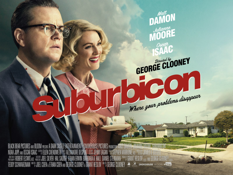 suburbicon uk poster