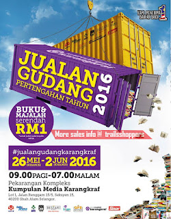 Karangkraf Books Warehouse Clearance Sale