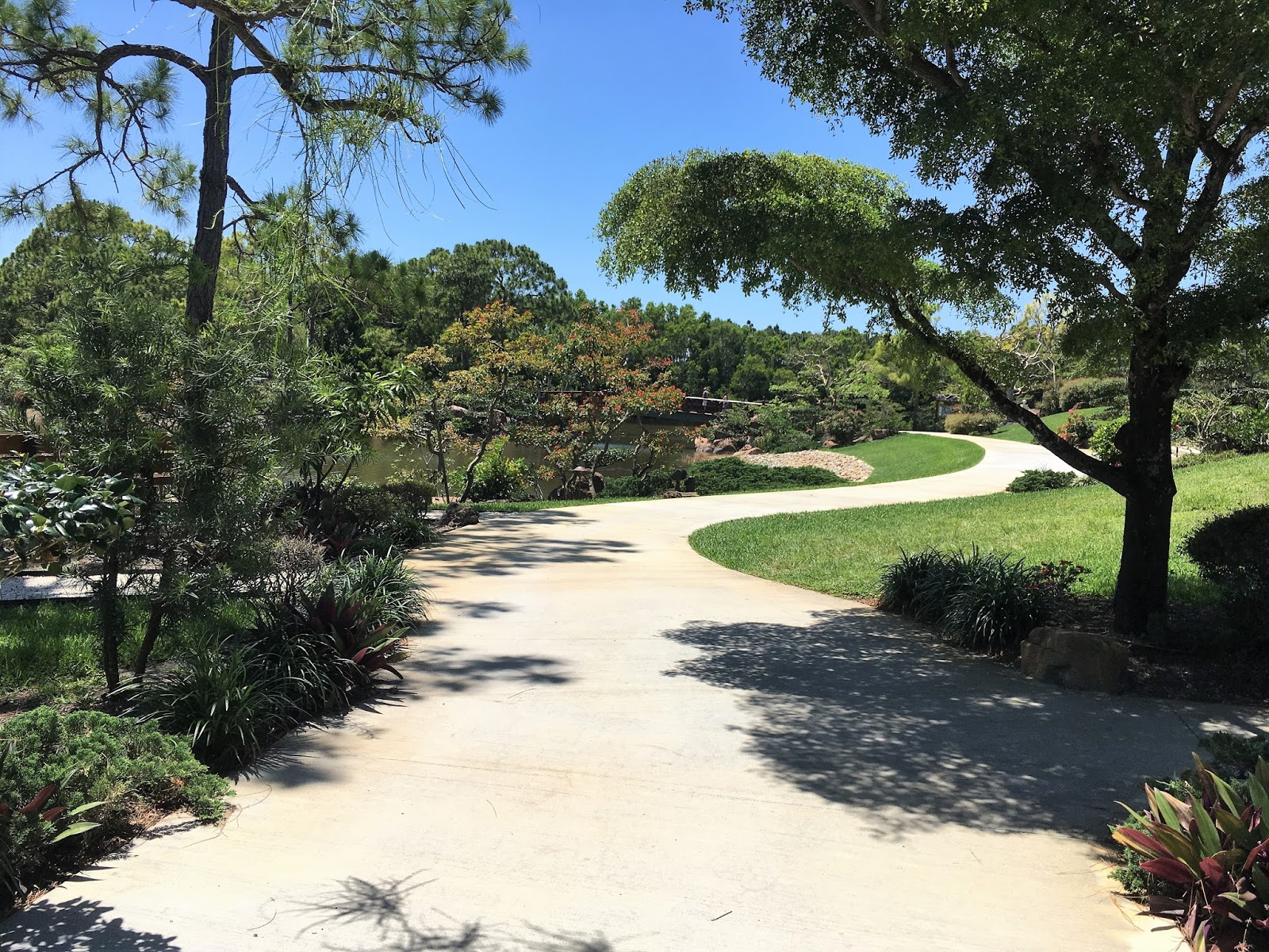 A Walk Through The Morikami Japanese Gardens Does Wonders For Calming Oneu0027s  Soul. Bridges And Paths Are Created In True Japanese Style With The Intent  To ...