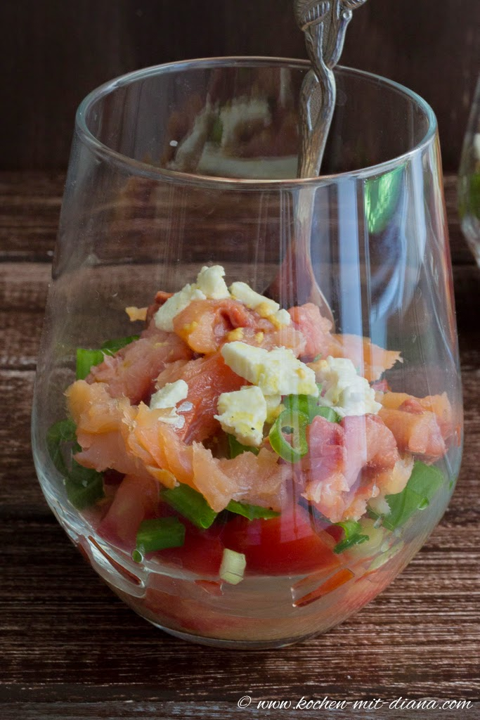 Hawaiianischer Lachssalat