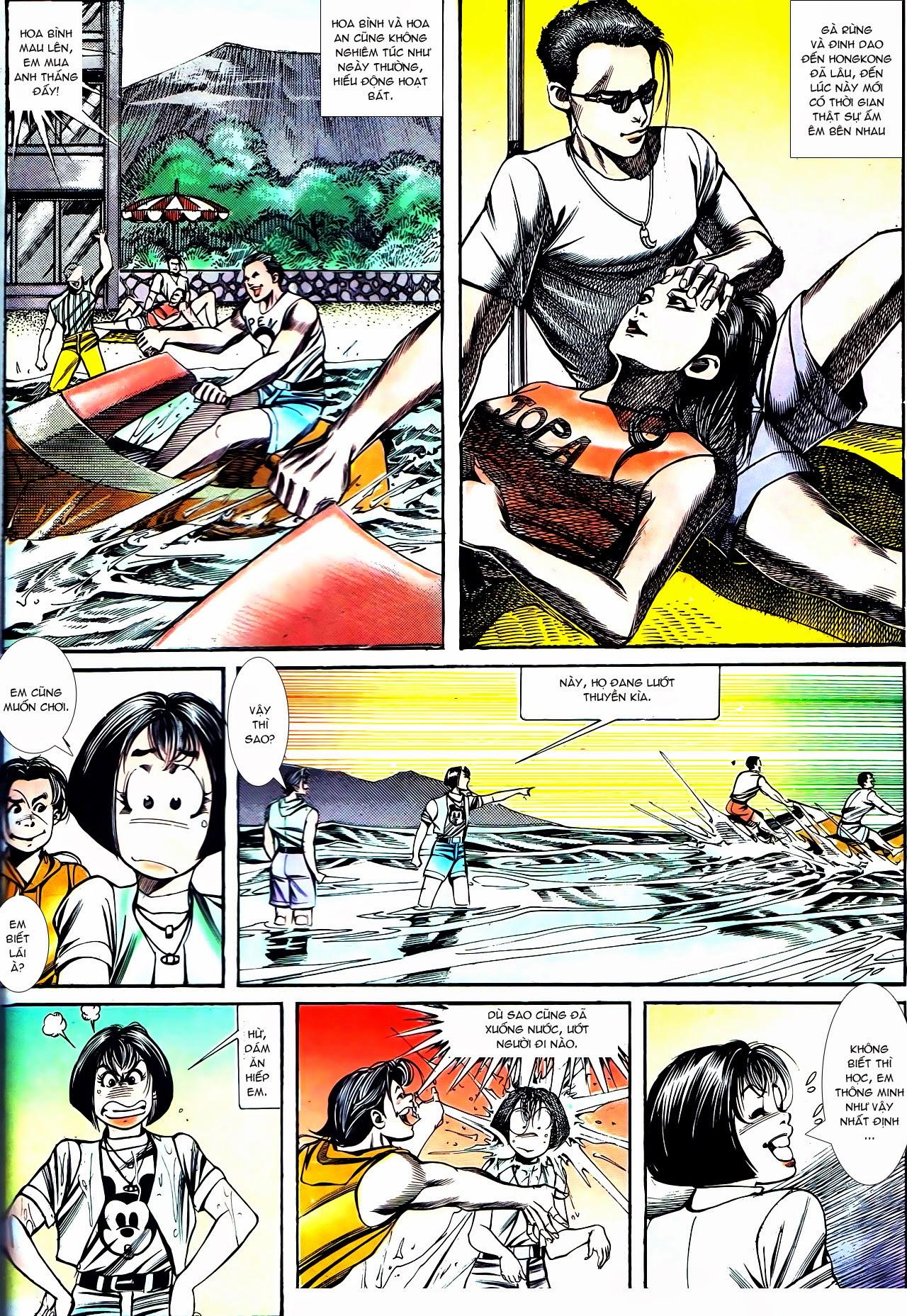Người Trong Giang Hồ chapter 130: cô ta đến từ giang hồ trang 28