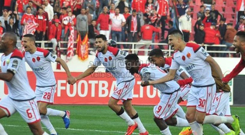 الوداد يحقق فوز كبير وكاسح على فريق اولمبيك خريبكة برباعيه في الجولة 6 من الدوري المغربي