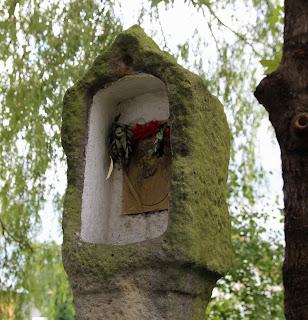 Głowica kapliczki w Tyńcu Małym, kapliczka pokutna