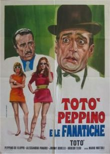 Carosone's Tu vuo' fa' l'Americano featured in a 1958 movie starring Totò
