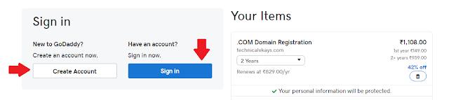 Godaddy Se Domain Kaise Khridte Hai- Technicalvkay.com