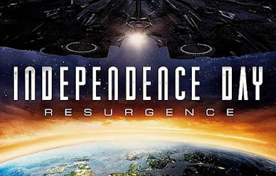 INDEPENDENCE DAY: RESURGENCE (2016) movie review by Glen Tripollo