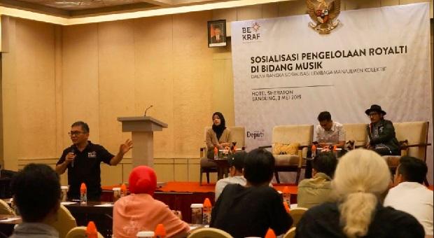 Bekraf Datangi Musisi Bandung untuk Edukasi Soal Royalti