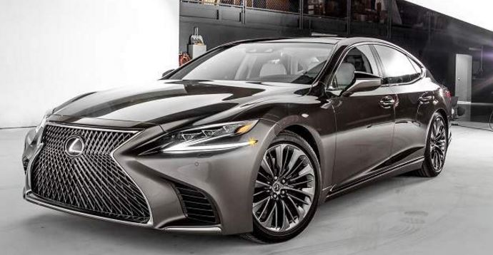 2018 lexus ls new review price photos and specs new car review. Black Bedroom Furniture Sets. Home Design Ideas