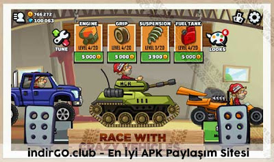 hill climb racing 2 hile apk
