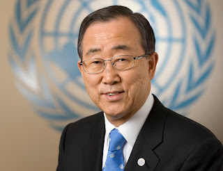 Former UN Chief  Ban Ki-Moon Heads IOC Ethics