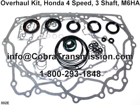 Cobra Transmission Parts 1-800-293-1848: Honda M6HA