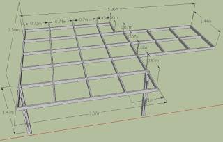 Rancangan ukuran kanopi minimalis