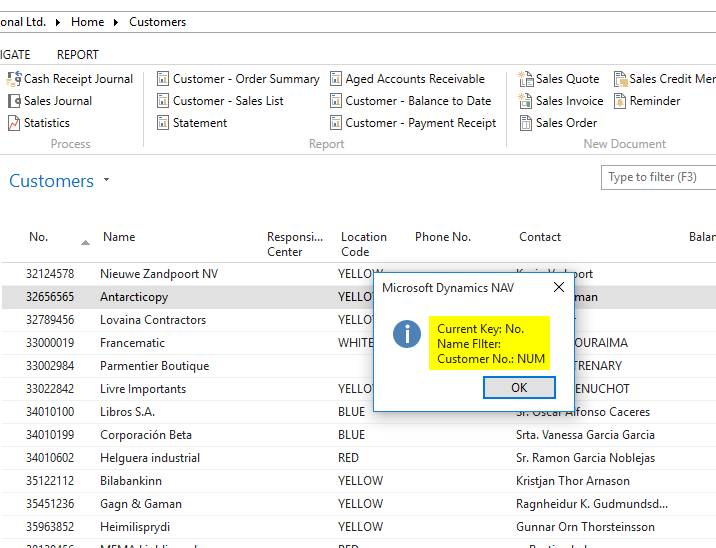 MS Dynamics 365 Business Central : What is the difference between