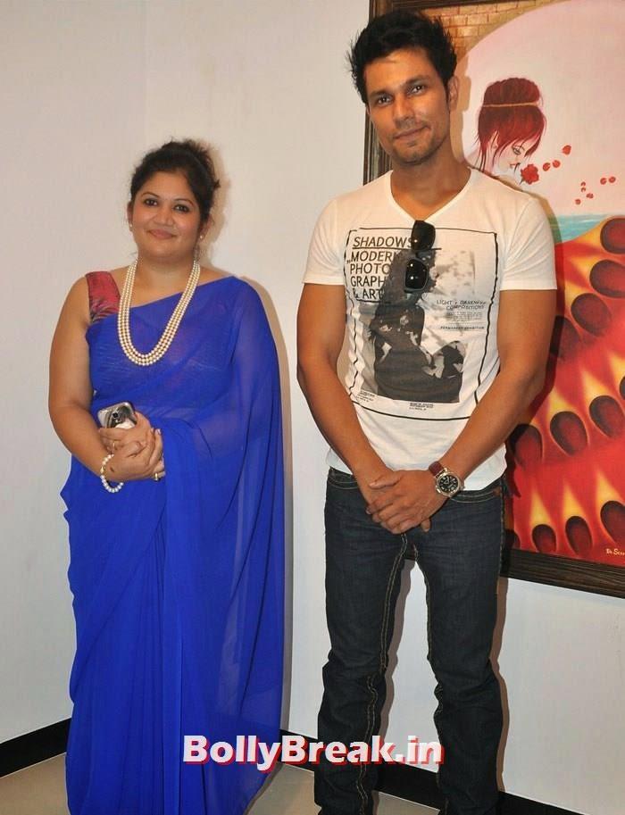Seema Chaudhary, Randeep Hooda, Tia Bajpai, Richa Sony Pics from Exhibition