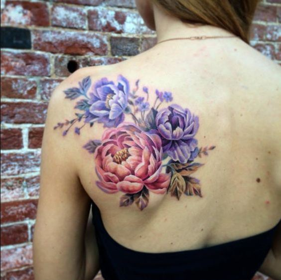 Realistic Flower Tattoo Designs: 50+ Delicate Flower Tattoos For Men With Meanings (2019