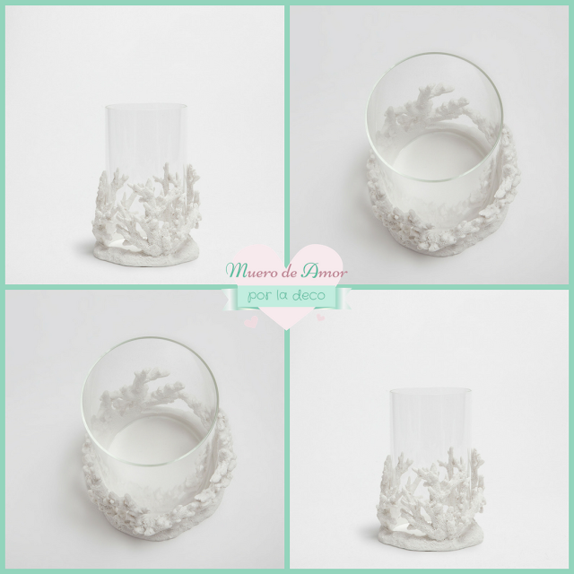 Decoración en blanco - portavelas- candelabros - farolillos-4