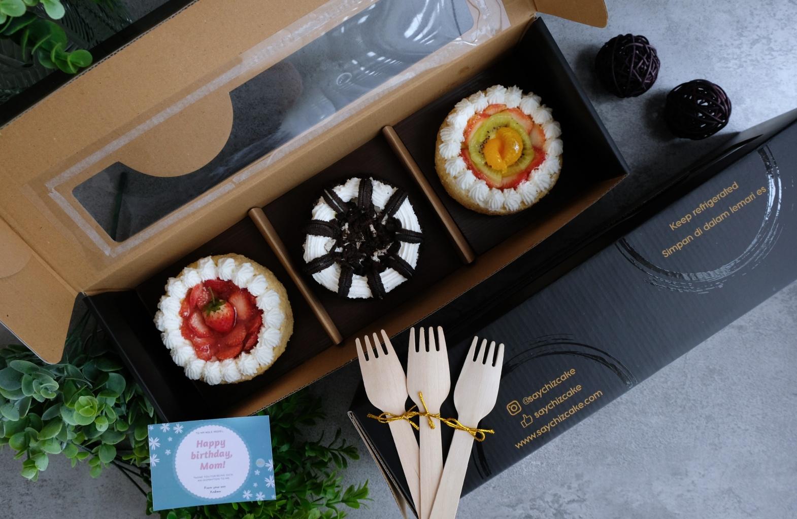 SayChiz Triple Cheesecake